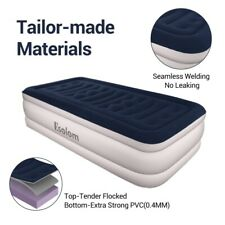 Inflatable High Raised Twin Air Bed Mattress Blow Up Mattress