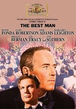 The Best Man 1964 (DVD) Henry Fonda, Cliff Robertson, Edie Adams, Lee Tracy New!