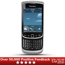 Blackberry Torch 9810 AZERTY Teléfono Móvil Desbloqueado condición PRÍSTINA-Gris