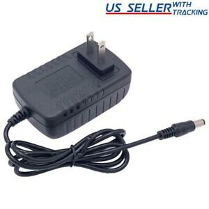 6V 2A Power Supply Adapter, Charger, AC DC Transformer 5.5mm x 2.1-2.5mm 1A