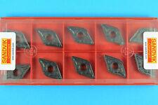 10 SANDVIK DNMG 150612-PR - Grade 4235 CNC Lathe Coated Carbide Turning Inserts