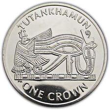 Isle of Man 2008 The Return of Tutankhamun Eye of Horus Unc. Cupro Nickel Coin