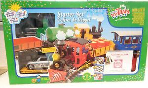LGB ToyTrain Spur G 90782 Startset mit Güterzug und Gleisen in OVP LA7077