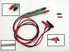 1 Set Ultra sharp pointed Probe Test Leads Pin Cable 20A For Multimeter Meter
