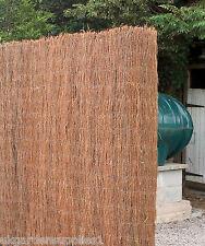 9m x 2m Brushwood Screening - Garden Thatch Screen Roll - Fencing - Fence