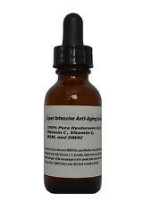 Super Intensive Anti-Aging Serum-100% Pure HA,Vitamin C+E,MSM, and DMAE