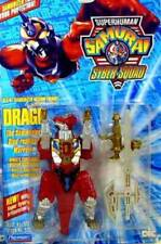 Superhuman Samurai Syber-Squad 5 1/4 Inch  Action Figure Set of 4 New