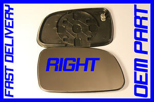 JEEP GRAND CHEROKEE WJ LIMITED 1998-2004 WING MIRROR GLASS HEATED RIGHT