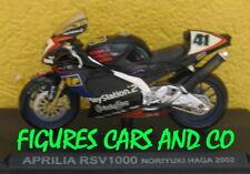1/24 MOTO GP  SERIE 1 N°44 APRILIA RSV 1000  2002 NORIYUKI HAGA #41