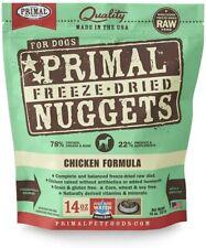 Primal Freeze Dried Nuggets Chicken Formula Dog Food 14oz