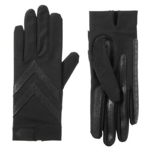 Isotoner Women's smartDRI Chevron Shortie Touchscreen Gloves - 30004