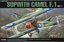 1/32 Academy 12109 SOPWITH CAMEL F.1 Plastic Model Kit Toy Airplane
