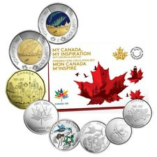 "2017 Canada 150 ""My Canada My Inspiration"" 8 Coin Proof Like Set."