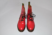 Dr. Martens Pascal Red Leather Mens Boot US 12