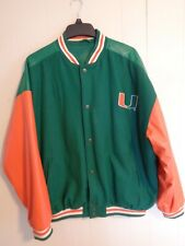 Vintage Steve And Barry's Miami Hurricanes 3x Jacket Coat
