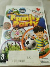 Family Party 30 Great Games Nintendo Wii Game Complete Fast Free Shipping