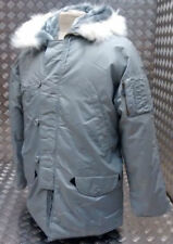 Abrigos y chaquetas de hombre militares grises grises