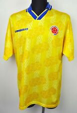 03d08a78a COLOMBIA Home 1994 World Cup Shirt Men s XL Adult Umbro Trikot National  1995 vtg