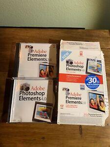 Photoshop Elements 4.0 And Adobe Premier Elements 2.0