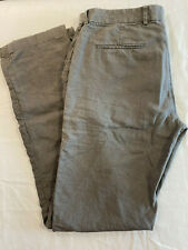 APOLIS Global Citizen Civilian Gray Linen Chino for Men Size 34