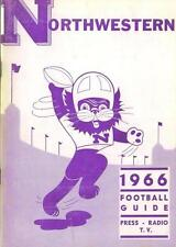 1966 Nortwestern Wildcats Football Media Guide with Alex Agase