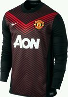 Authentic Nike Manchester United Training Top Men's, Sizes Long Sleeve
