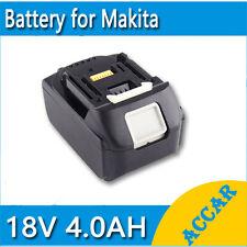 Battery For Makita 18V 4.0Ah Li-ion BDF451Z BDF452 BDF454Z BJR182Z BJS130 AU