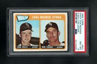1965 TOPPS #541 WHITE SOX ROOKIE STARS BOLLO/LOCKER PSA 8 NM/MT++SHARP CARD!