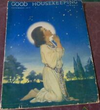 Good Housekeeping December 1918 Jessie Wilcox Smith/Parrish/Kewpies/Cut Out