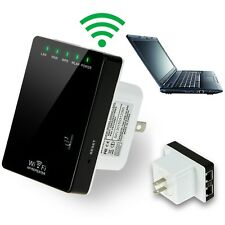 WPS Wifi Signal Repeater Booster Wireless Cordless N G Network 300Mbps Router