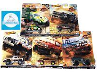 Hot Wheels Premium Car Culture K Case Desert Rally Complete Set 1-5