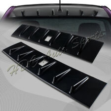 For Mitsubishi Lancer EVO X 10 Glossy Black Vertex Shark Fin Roof Spoiler Wing