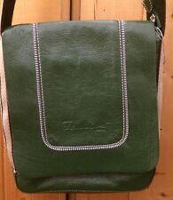 TOM & EVA Leather Handbag Bag Satchel Baguette Long Adjustable Shoulder Strap, M
