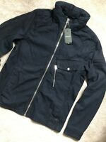 """G-STAR RAW RINSED BLUE """"DEFEND OVERSHIRT"""" JACKET COAT - LARGE - NEW & TAGS"""