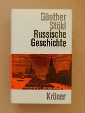 Russische Geschichte Günther Stökl Kröner