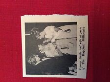 m76a ephemera 1967 film picture tommy steele and wife the happiest millionaire
