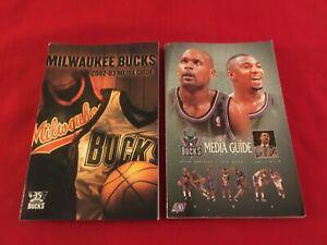 NBA Milwaukee Bucks media guide yearbook / You pick 'em / Box 2020 / Allen