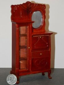Dollhouse Miniature Bedroom Dresser Mirror Vanity 1:12 scale K67 Dollys Gallery