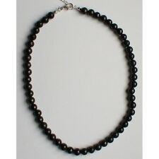 Collier shungite boules 8 mm protection ondes