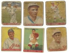 Lot of 6 different 1933 Goudey Rookie Cards; HB:$600
