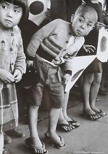 Werner Bischof Photo Print 21x30 Children Hiroshima Emperor Hirohito Japan 1951