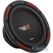 "Cerwin-Vega HS104D 800W 10"" HED Series Dual 4 Ohm Shallow Mount Car Subwoofer"