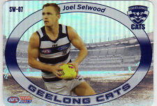 2017 AFL TEAMCOACH STAR WILD CARD GEELONG CATS JOEL SELWOOD SW07 WILDCARD SW7