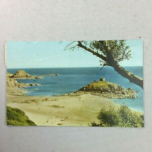 Portelet Bay Jersey Posted 1960 60s Postcard Real Colour Photograph