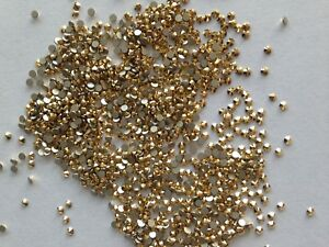 AURUM GOLD(144pcs)  5ss 1.8mm  SWAROVSKI ,No hotfix,Crystal Flatback 2058.
