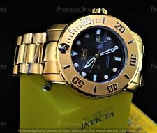 ➤➤NWT Invicta Men's Pro Diver PROPELLER Automatic Charcoal Dial 18K GIP SS Watch