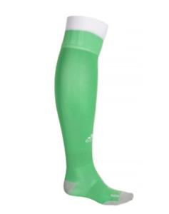 Adidas Soccer Socks Over Calf, Men's Shoe Size 5-6.5, S, Green, Football L6 M