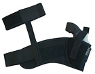 Uncle Mike's Off-Duty and Concealment Kodra Nylon Ankle Holster Black, Size 0,
