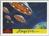 Mars Attacks The Revenge 2017 ~ LAYRON DeJARNETTE Autograph Card 53 (#10/10)