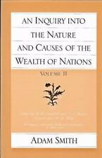 An Inquiry Into the Nature and Causes of the Wealth of Nations, Vol 2  (ExLib)